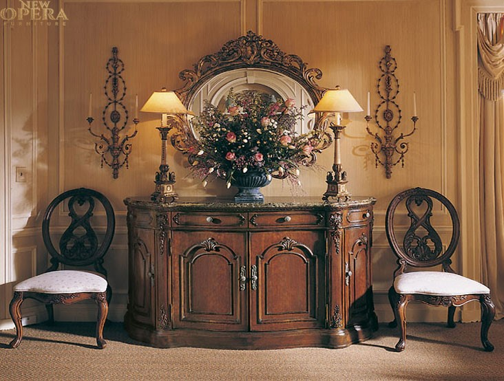 New opera home page for Classic home furniture catalog